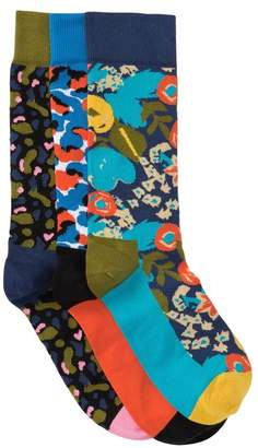 Happy Socks Wiz Khalifa Sock Box Set - Pair of 3