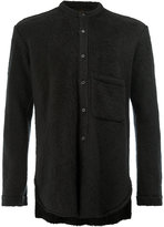 L'Eclaireur - textured long sleeve shirt - men - Cotton/Wool/Alpaca - M