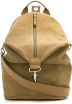 Egrey - suede backpack - women - Leather - One Size