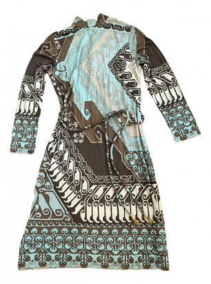 Leonard Beige Silk Dresses