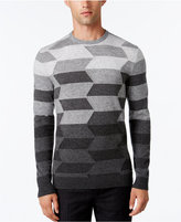 Alfani Collection Men's Ombré Chevron Sweater, Regular Fit, Only at Macy's