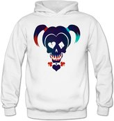 MayDay Home MayDay Funny Suicide Squad Movie Harley Quinn Women's Long Sleeve Hoodies L