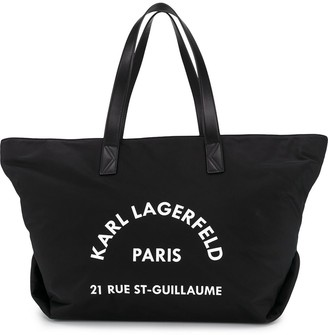 Karl Lagerfeld Paris Rue St Guillaume big tote