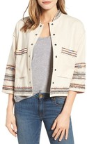 Velvet by Graham & Spencer Women's Embroidered Cotton Jacket