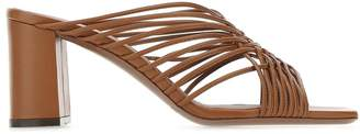 L'Autre Chose Strapped Block Heel Sandals