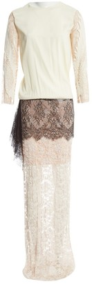 Loyd/Ford Beige Silk Dress for Women