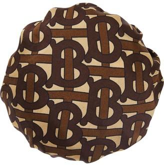 Burberry monogram print chignon cover