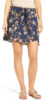 Mimichica Women's Mimi Chica Floral Tie Front Skirt