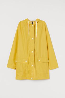 H&M Hooded Rain Jacket - Yellow