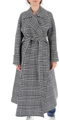 Missoni Houndstooth Belted Coat