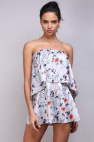 Do & Be Floral Ots Romper