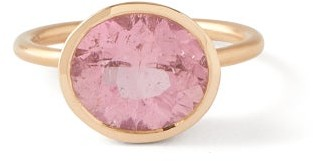 Irene Neuwirth Tourmaline & 18kt Rose-gold Ring - Pink