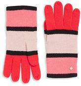 Kate Spade New York Colourblock Wool-Blend Gloves