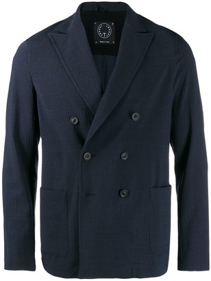 T Jacket double breasted blazer