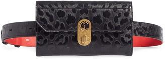 Christian Louboutin Elisa Embossed Leather Belt Bag