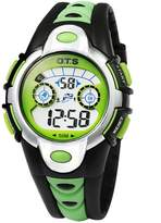 OTS O.T.S Kid Watch 50M Waterproof Sport LED Alarm Stopwatch Digital Electronic Movement Wristwatch for Boys(5 Colors)