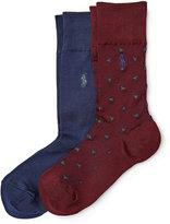 Ralph Lauren Cotton-blend Sock 2-pack