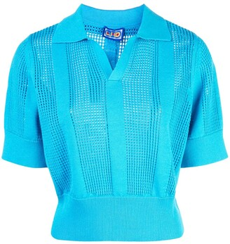 Lhd Perforated Polo Shirt