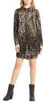 BCBGeneration Leopard Print Shirt Dress