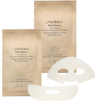 Shiseido Benefiance Pure Retinol Intensive Revitalizing Face Mask x4 Sets