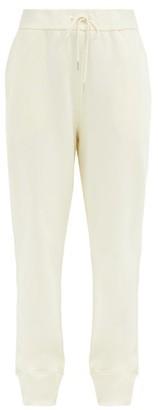 Jil Sander Drawstring-waist Organic-cotton Track Pants - Ivory