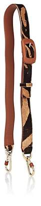 Fontana Milano Women's Calf Hair & Leather Shoulder Strap - Rust, Rust