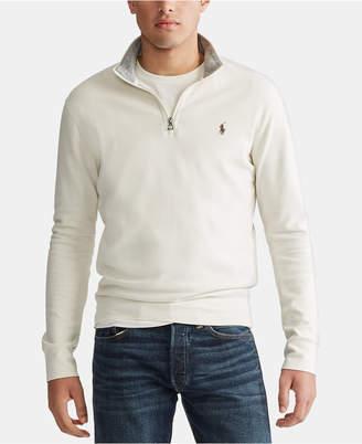 Polo Ralph Lauren Men Jersey Quarter-Zip Pullover