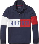 Tommy Hilfiger Boys Logo Long Sleeve Polo
