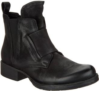 Miz Mooz Leather Zip Ankle Boots - Nicholas