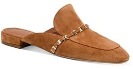 Salvatore Ferragamo Women's Embellished Flat Mules