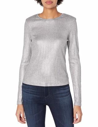 Ramy Brook Women's Metallic Quincy Sweater