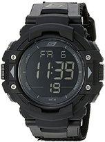 Skechers Men's SR1037 Digital Display Quartz Black Watch