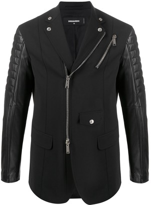 DSQUARED2 Manchester zipped blazer