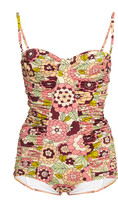 Dodo Bar Or Tatiana Ruched Swimsuit