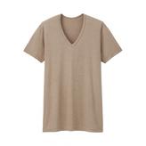 Uniqlo MEN HEATTECH V Neck T-Shirt (Short Sleeve)