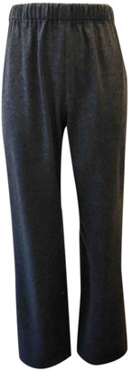 Leonard Grey Wool Trousers