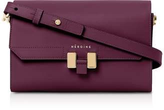 Maison Heroine Berry Leather Lilia Tablet Mini Shoulder Bag