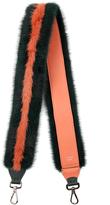 Fendi Strap You fur and leather shoulder strap