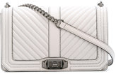 Rebecca Minkoff Chevron Quilted Love crossbody bag - women - Leather - One Size