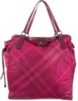 Burberry Buckleigh House Check Tote