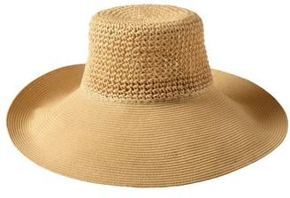 Bondi Beach Bag Co 3-7223 Cream Sun Hat