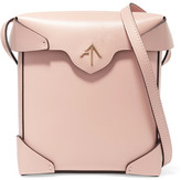 Manu Atelier - Pristine Mini Leather Shoulder Bag - Pink