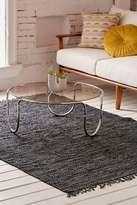 Urban Outfitters Moore Woven 5x7 Leather Rug