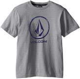 Volcom Fade Stone Short Sleeve Shirt (Big Kids)