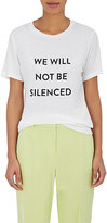 "Prabal Gurung Women's ""We Will Not Be Silenced"" T-Shirt"
