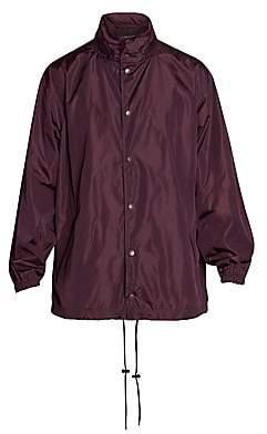 Balenciaga Men's Oversized Logo Rain Jacket