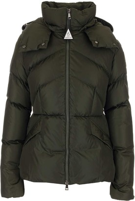 Moncler Aloes Hooded Down Jacket