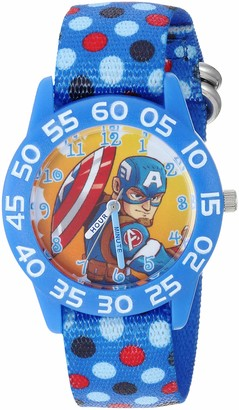 Marvel Boys Super Hero Analog-Quartz Watch with Nylon Strap