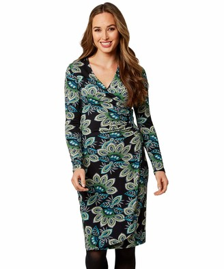 Joe Browns Women's Flattering Wrap Style Dress Casual