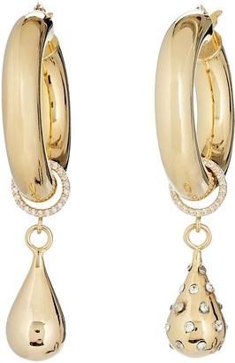 Mounser Flow Teardrop Hoop Earrings
